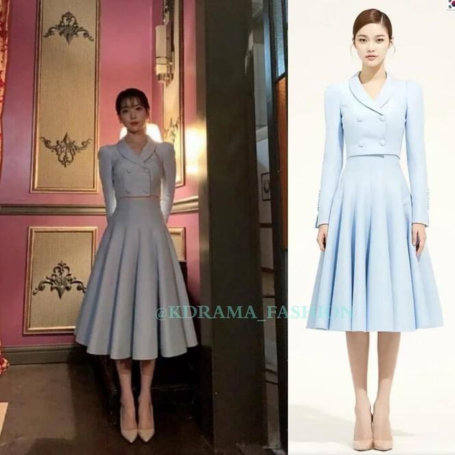 Váy cạp cao khoe eo thon như Seo Ye Ji đang thành chân ái của sao K-Biz - ảnh 2