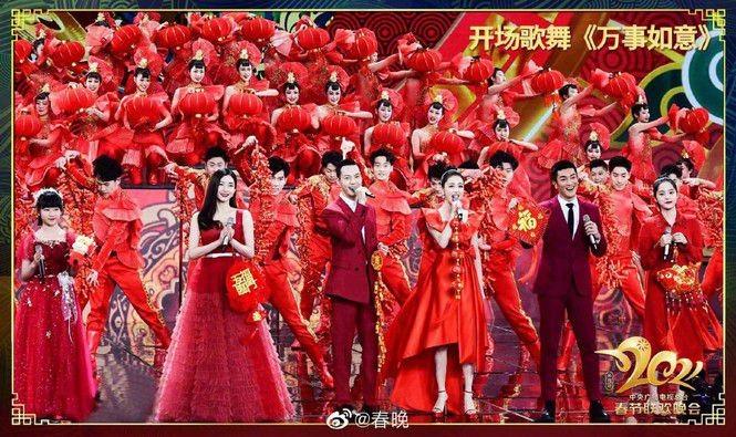 """Sao C-Biz diện đồ đỏ đón Tết: Nhiệt Ba, Dương Mịch hay Quan Hiểu Đồng xứng danh """"công chúa""""? - ảnh 1"""