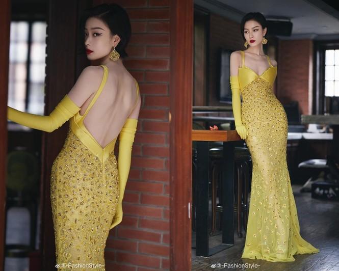 Màu vàng lên ngôi tại đêm hội Weibo: Do vô tình đụng hàng hay là xu hướng mới? - ảnh 7