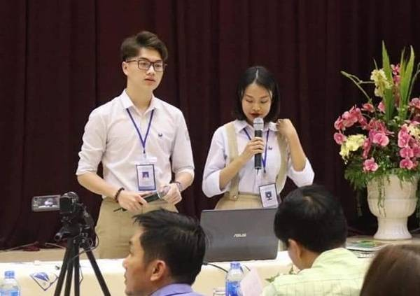 Gặp gỡ Thái Bá Minh - Chàng hotboy Ngoại giao vào Đảng từ năm 18 tuổi - ảnh 2
