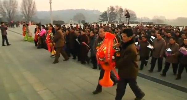 Triều Tiên kỉ niệm sinh nhật cố Chủ tịch Kim Jong Il - ảnh 3
