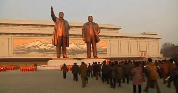 Triều Tiên kỉ niệm sinh nhật cố Chủ tịch Kim Jong Il - ảnh 4