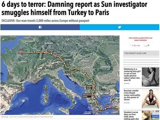Thực hư chuyện phóng viên đột nhập Paris như kẻ khủng bố - ảnh 1