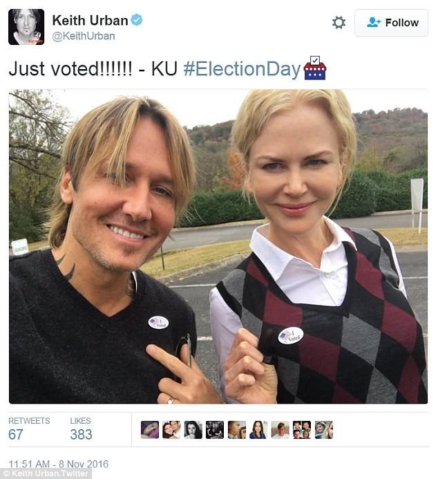 Sao Mỹ nô nức đi bầu cử Tổng thống - ảnh 2