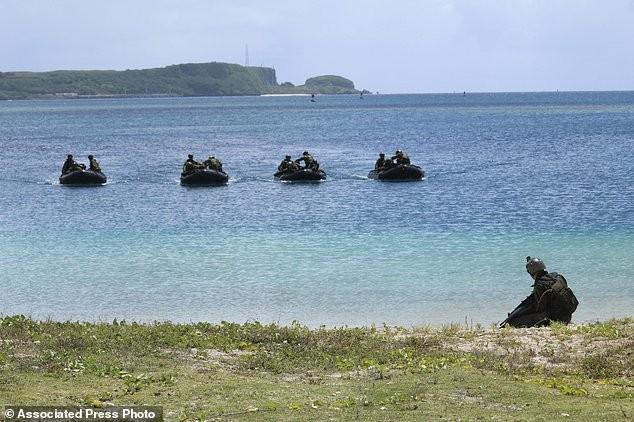 Xem lính Nhật Bản đổ bộ, đánh chiếm bờ biển - ảnh 6