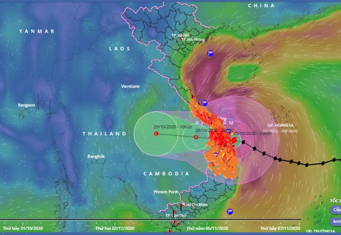 Bão số 9 đổ bộ Quảng Nam - Quảng Ngãi, giật cấp 13 - ảnh 9