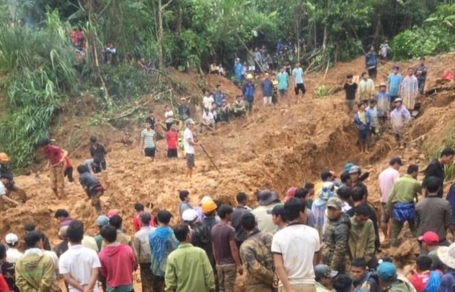 53 người mất tích do sạt lở núi ở Quảng Nam, quân đội vào hiện trường - ảnh 5