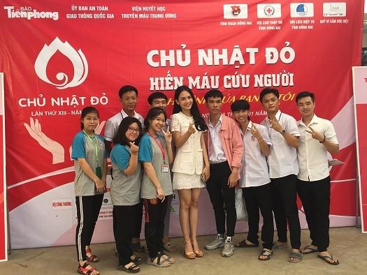 Người đẹp Nhân ái Huỳnh Nguyễn Mai Phương tham gia Chủ nhật Đỏ tại Đồng Nai - ảnh 3