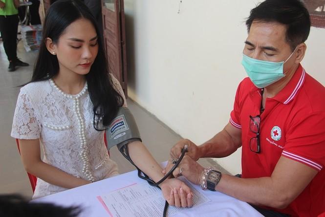 Người đẹp Nhân ái Huỳnh Nguyễn Mai Phương tham gia Chủ nhật Đỏ tại Đồng Nai - ảnh 4
