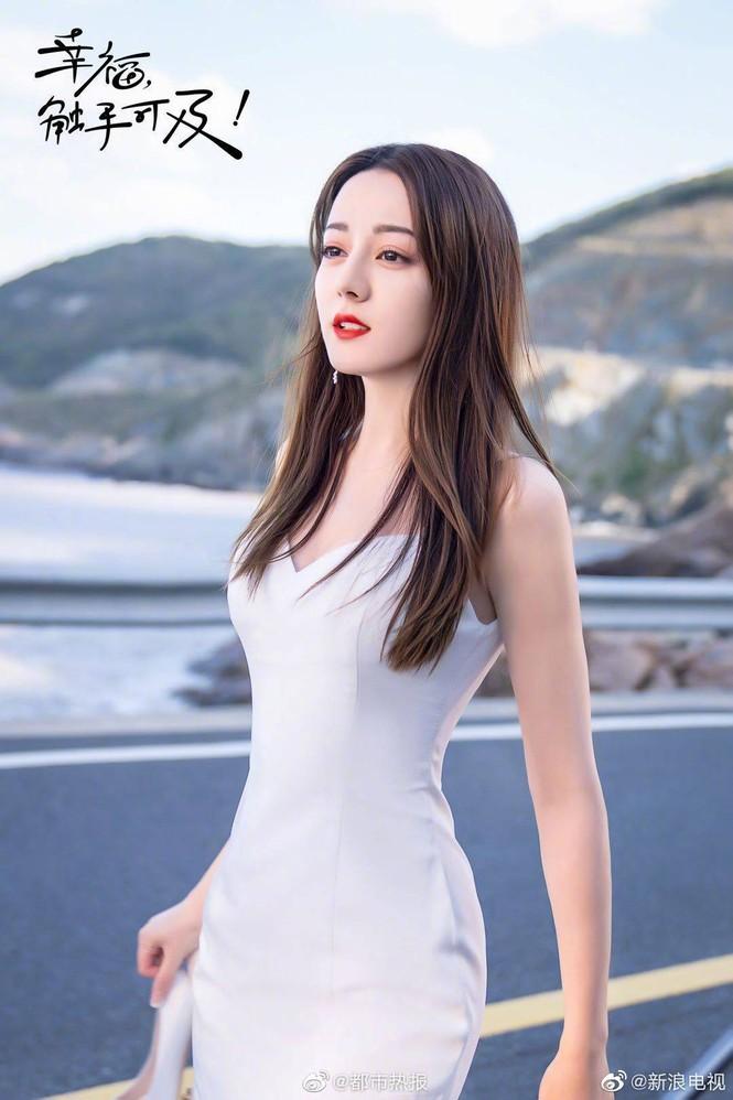 Địch Lệ Nhiệt Ba xinh như thiên thần trong phim mới