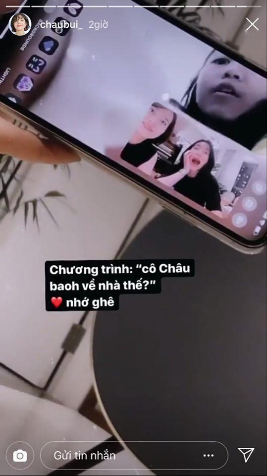 Ngay khi tin đồn hẹn hò với Binz nổ ra, Châu Bùi đã có động thái đầu tiên trên MXH - ảnh 3