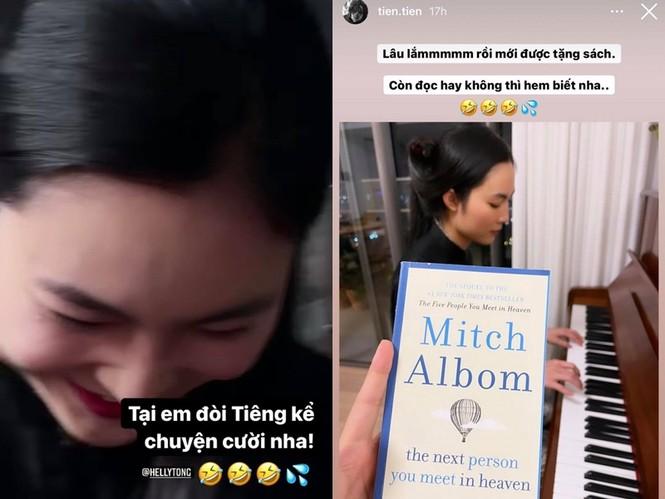 """Liên tục đăng tải hình ảnh của Helly Tống lên Instagram Story, Tiên Tiêp được fan """"ship"""" nhiệt tình - ảnh 3"""