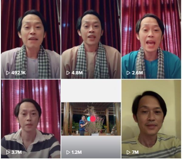 31 tài khoản Tiktok đầu tiên được nghệ sĩ Hoài Linh theo dõi - ảnh 1