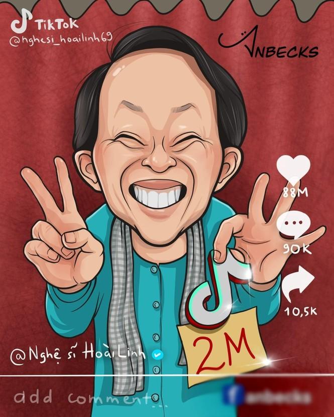 31 tài khoản Tiktok đầu tiên được nghệ sĩ Hoài Linh theo dõi - ảnh 2