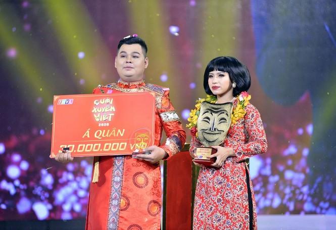 Quán quân Cười Xuyên Việt 2020 được gọi tên, NSƯT Hoài Linh bất ngờ xuất hiện trong chương trình - ảnh 4