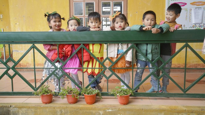 Quỹ Vì Tầm vóc Việt hoàn thành nâng cấp một điểm trường mầm non ở Vân Hồ, Sơn La - ảnh 2