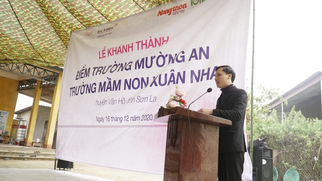 Quỹ Vì Tầm vóc Việt hoàn thành nâng cấp một điểm trường mầm non ở Vân Hồ, Sơn La - ảnh 5