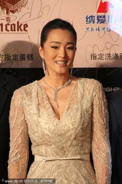 Song Hye Kyo, Củng Lợi, Ôn Bích Hà lộng lẫy trên thảm đỏ - ảnh 8