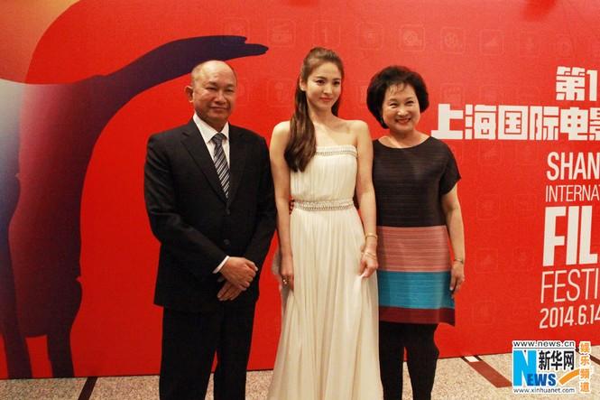 Song Hye Kyo, Củng Lợi, Ôn Bích Hà lộng lẫy trên thảm đỏ - ảnh 4