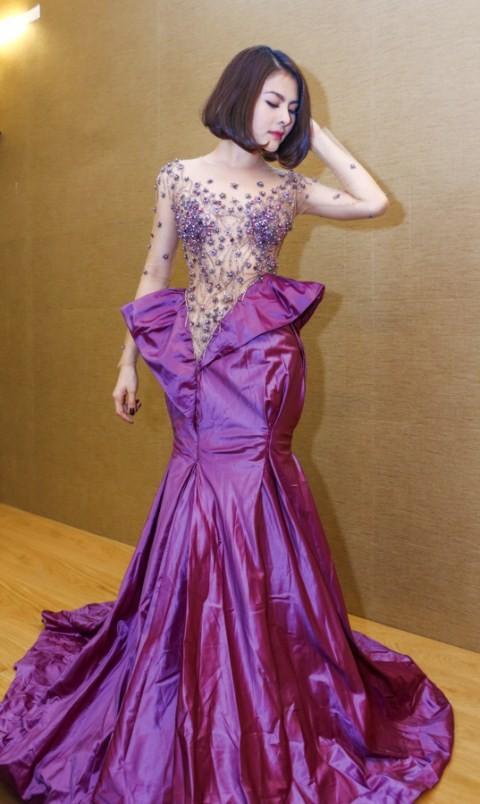 Vân Trang chi 6000 USD mua váy dự liên hoan phim tại Pháp - ảnh 14