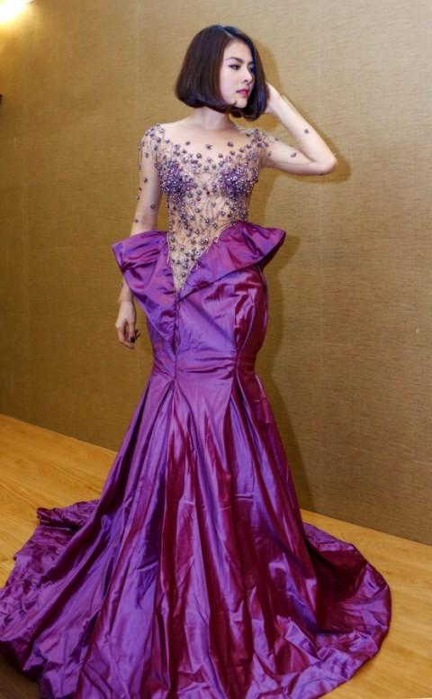 Vân Trang chi 6000 USD mua váy dự liên hoan phim tại Pháp - ảnh 15
