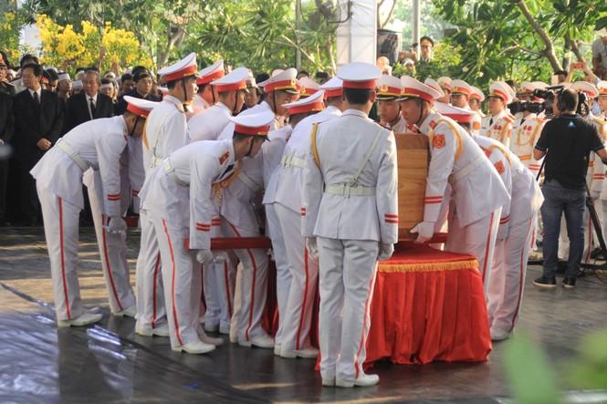Đại tướng Lê Đức Anh an nghỉ cùng đồng đội tại Nghĩa trang Thành phố Hồ Chí Minh - ảnh 4