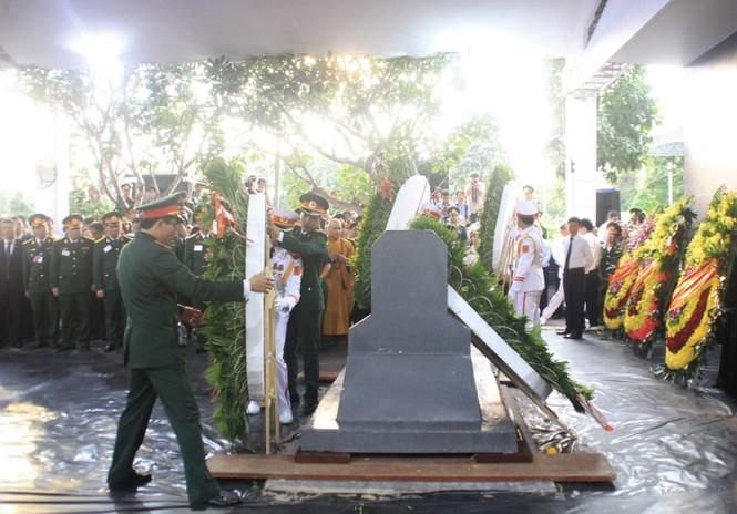 Đại tướng Lê Đức Anh an nghỉ cùng đồng đội tại Nghĩa trang Thành phố Hồ Chí Minh - ảnh 16