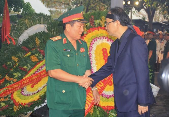 Đại tướng Lê Đức Anh an nghỉ cùng đồng đội tại Nghĩa trang Thành phố Hồ Chí Minh - ảnh 19
