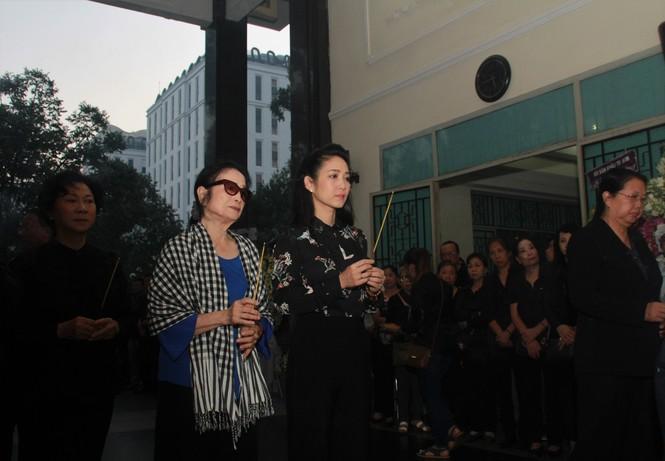 NSND Trà Giang, Thành Lộc, Minh Đức tiễn đưa