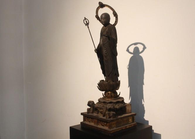 Cận cảnh hơn 100 pho tượng Phật cổ cực quý hiếm đang trưng bày tại TPHCM - ảnh 12
