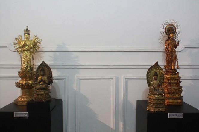 Cận cảnh hơn 100 pho tượng Phật cổ cực quý hiếm đang trưng bày tại TPHCM - ảnh 13