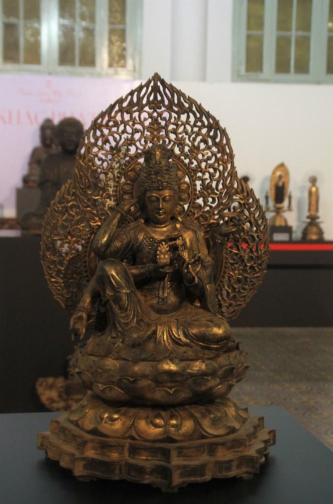 Cận cảnh hơn 100 pho tượng Phật cổ cực quý hiếm đang trưng bày tại TPHCM - ảnh 3