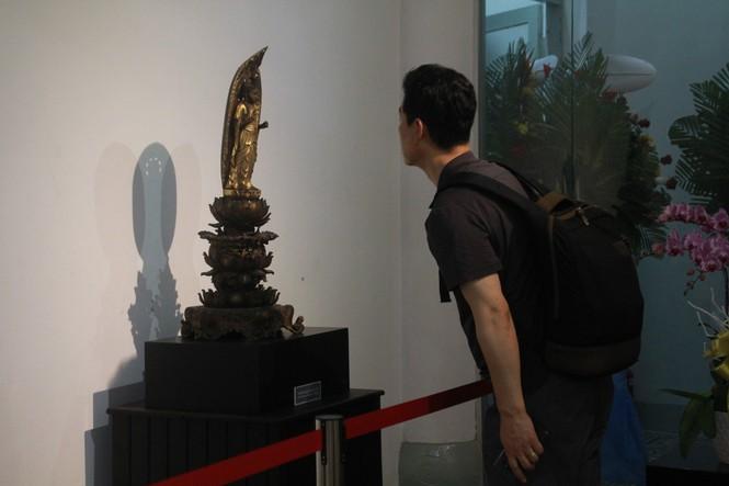 Cận cảnh hơn 100 pho tượng Phật cổ cực quý hiếm đang trưng bày tại TPHCM - ảnh 21