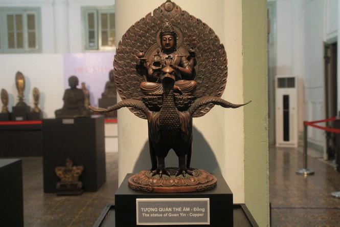 Cận cảnh hơn 100 pho tượng Phật cổ cực quý hiếm đang trưng bày tại TPHCM - ảnh 4