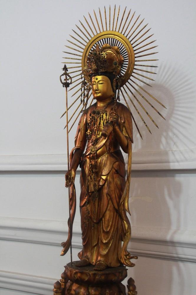 Cận cảnh hơn 100 pho tượng Phật cổ cực quý hiếm đang trưng bày tại TPHCM - ảnh 9