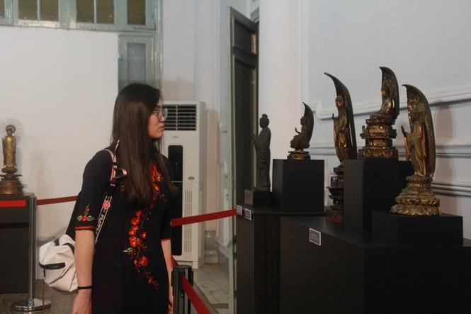 Cận cảnh hơn 100 pho tượng Phật cổ cực quý hiếm đang trưng bày tại TPHCM - ảnh 22