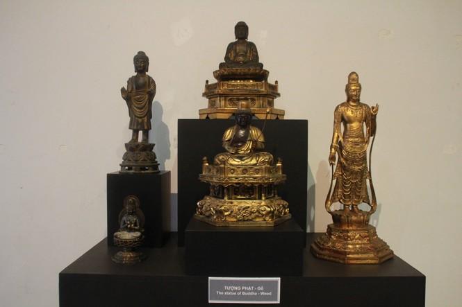 Cận cảnh hơn 100 pho tượng Phật cổ cực quý hiếm đang trưng bày tại TPHCM - ảnh 17