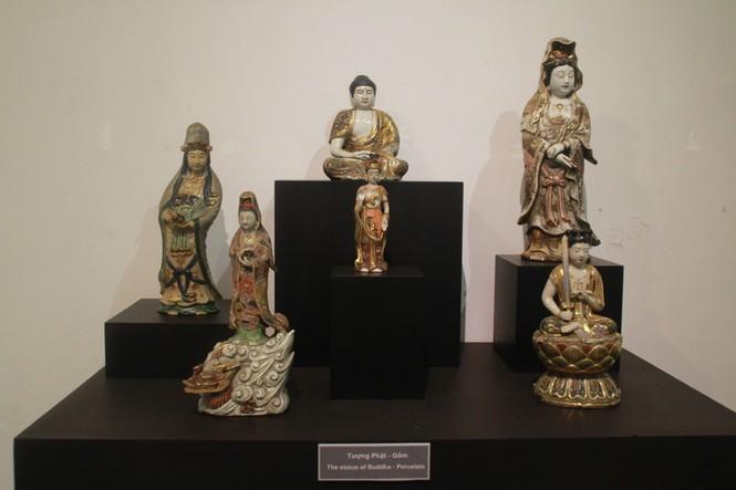Cận cảnh hơn 100 pho tượng Phật cổ cực quý hiếm đang trưng bày tại TPHCM - ảnh 18
