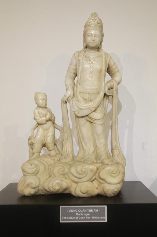 Cận cảnh hơn 100 pho tượng Phật cổ cực quý hiếm đang trưng bày tại TPHCM - ảnh 6