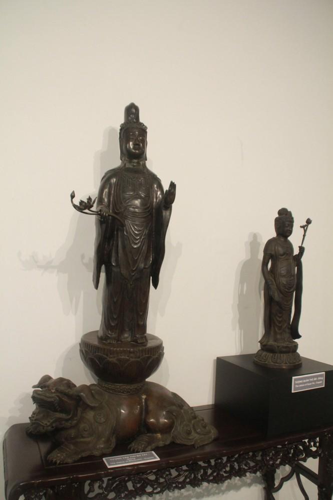 Cận cảnh hơn 100 pho tượng Phật cổ cực quý hiếm đang trưng bày tại TPHCM - ảnh 14