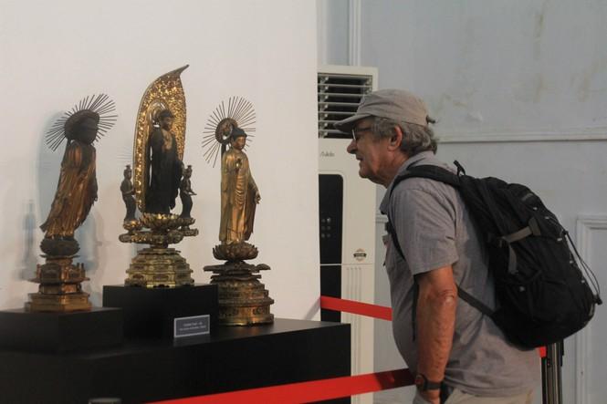 Cận cảnh hơn 100 pho tượng Phật cổ cực quý hiếm đang trưng bày tại TPHCM - ảnh 20