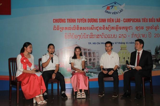 Khen thưởng 86 sinh viên Lào, Campuchia nỗ lực học tập, tích cực tham gia hoạt động phong trào - ảnh 1