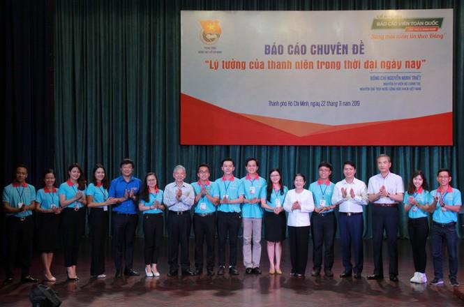 Nguyên Chủ tịch nước Nguyễn Minh Triết tiếp lửa bản lĩnh, phấn đấu cho bạn trẻ - ảnh 4