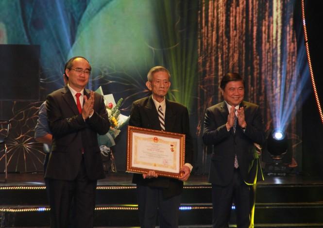 Minh Vương, Thanh Tuấn cùng dàn nghệ sĩ tề tựu ở lễ vinh danh - ảnh 3