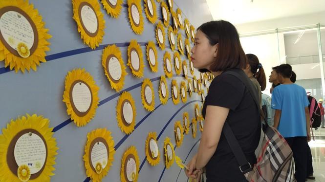 Đong đầy yêu thương tại ngày hội Hoa hướng dương - ảnh 1
