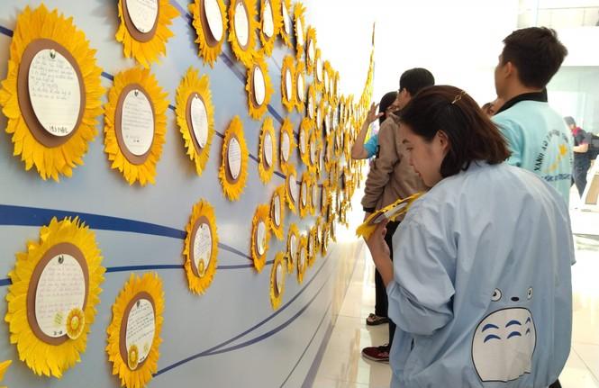 Đong đầy yêu thương tại ngày hội Hoa hướng dương - ảnh 2