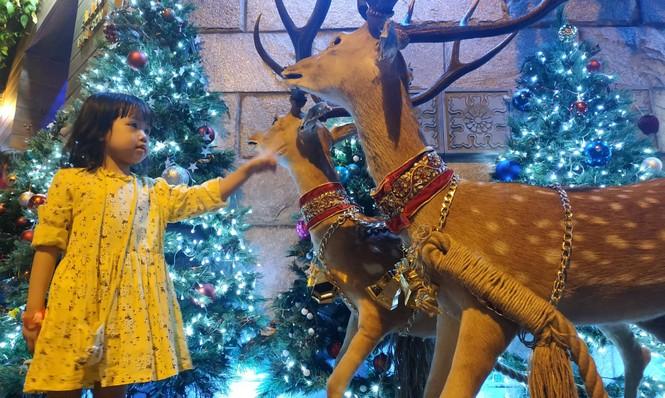Bố mẹ đưa con đến check-in ở biệt thự lộng lẫy của Đàm Vĩnh Hưng đêm Noel - ảnh 1