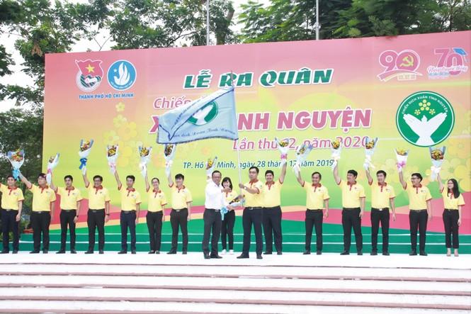 Nghìn bạn trẻ TPHCM hào hứng ra quân chiến dịch Xuân tình nguyện 2020 - ảnh 5