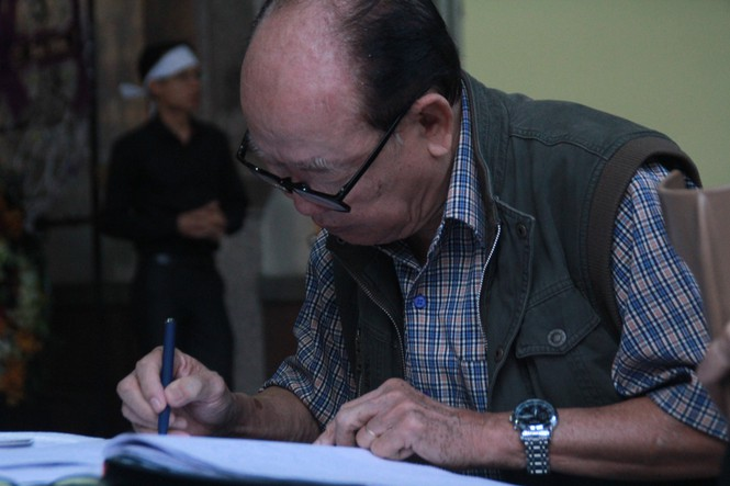 Tiễn đưa nhạc sỹ Nguyễn Văn Tý về nơi an nghỉ  - ảnh 1