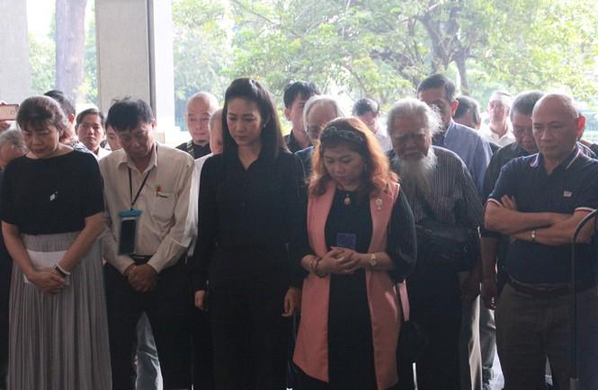 Tiễn đưa nhạc sỹ Nguyễn Văn Tý về nơi an nghỉ  - ảnh 3